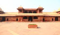 Fatehpursikri fort in agra this isn fatehpur sikri and it was residence of great mughal emperor akbar it was built arourd to this Stock Photos