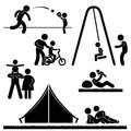 Father Daddy Family Parent Parenthood Pictogram Stock Images