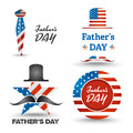 Father Day Icons Set