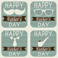 Father icons Stock Images