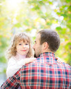 Father and kid Royalty Free Stock Image