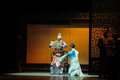 Father s orders against the prelude of dance drama shawan events of the past guangdong town is hometown ballet music focuses on Royalty Free Stock Photos