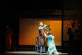Father s orders against the prelude of dance drama shawan events of the past guangdong town is hometown ballet music focuses on Royalty Free Stock Image