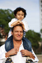 Father with son Royalty Free Stock Photo