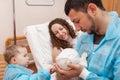 Maternity ward Royalty Free Stock Photo