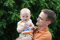Fatherhood Royalty Free Stock Photography