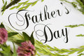 Fathers Day Card Royalty Free Stock Photos