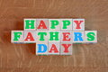 Fathers Day Card - Stock Photo Royalty Free Stock Image