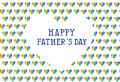 Fathers Day Card, Vector Illus...
