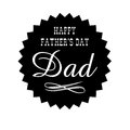 Fathers day dad seal