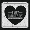 Fathers day design over background vector illustration Stock Images