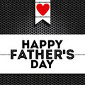 Fathers day design over black background vector illustration Royalty Free Stock Photography