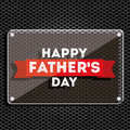 Fathers day design over black background vector illustration Stock Photography