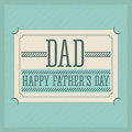 Fathers day design over blue background vector illustration Royalty Free Stock Photography