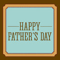 Fathers day design over brown background vector illustration Royalty Free Stock Photos