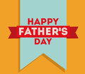 Fathers day design over yellow background vector illustration Royalty Free Stock Photo