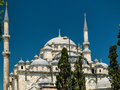 The fatih mosque conqueror s mosque in istanbul turkey Royalty Free Stock Photography