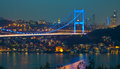 Fatih Sultan Mehmet Bridge 3 Royalty Free Stock Photo