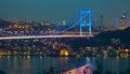 Fatih Sultan Mehmet Bridge 3 Royalty Free Stock Photo