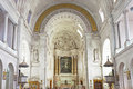 Fatima interior of the sanctuary of the basilica in neo classical style dates from Stock Photo