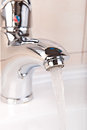 Faucet closeup Royalty Free Stock Image