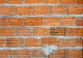 Favela bricks typical wall of brazilian Royalty Free Stock Images