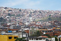 Favelas (Slums) in Brazil Royalty Free Stock Images