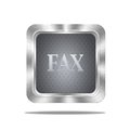Fax button. Royalty Free Stock Photo