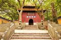 Fayu Temple Entrance Royalty Free Stock Photo