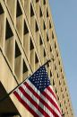 FBI building in DC Royalty Free Stock Photo