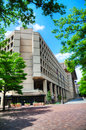 FBI building in Washington, DC Royalty Free Stock Photo