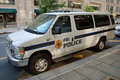 FBI police car Royalty Free Stock Photo