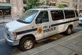 FBI police car Royalty Free Stock Photo