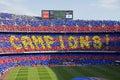 FC Barcelona: La Liga Champions Royalty Free Stock Photo