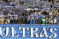 FC Dynamo Kyiv ultra supporters show their support Royalty Free Stock Photography