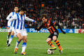 FC Shakhtar Donetsk midfielder Bernard Stock Photo