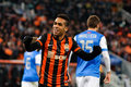 Fc shakhtar donetsk player alex teixeira match ukraine real sociedad spain november donbass arena the uefa champions league Royalty Free Stock Photography