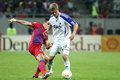 FC Steaua Bucharest - FC Copenhaga Stock Photos