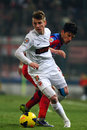Fc steaua bucharest fc dinamo bucharest valentin lazar and cristian tanase fighting for the ball during the football match Stock Images
