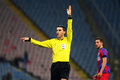 Fc steaua bucharest u cluj ovidiu hategan central referee during the football match counting for the romanian league one between Stock Images