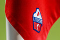 FC Utrecht logo on Corner Flag Royalty Free Stock Photo