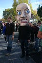Fear (Rally to Restore Sanity and/or Fear) Royalty Free Stock Photos