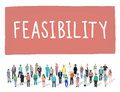 Feasibility Possibility Possible Potential Ideas Concept Royalty Free Stock Photo