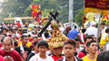 Feast of Black Nazarene in Manila, Philippines Royalty Free Stock Photo