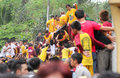 Feast of black nazareno philippines metro manila january thousands filipino catholic devotees gathered into the capital the Royalty Free Stock Images