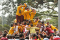 Feast of black nazareno philippines metro manila january thousands filipino catholic devotees gathered into the capital the Stock Photo