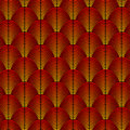 Feather styled background with curved lines styled as exotic