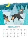 February Royalty Free Stock Photos