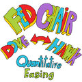 Fed Chair Quantitative Easing Royalty Free Stock Photo