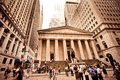 Federal Hall in New York City Stock Photo